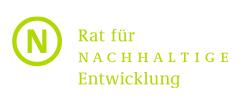 RNE-Logo in Bloggertreffen auf der 11. Jahreskonferenz des Rates für Nachhaltige Entwicklung