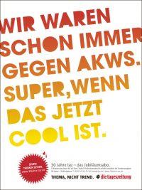 2940534307 35fed04c63 O-200x267 in Kampagne der TAZ zum 30-jährigen Jubiläum: Thema, nicht Trend