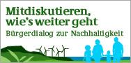 in Vorgemerkt: Der Bürgerdialog Nachhaltigkeit startet am 27.09.10