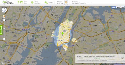Map1-528x275 in Mapnificent visualisiert ÖPNV-Reisezeiten in Großstädten
