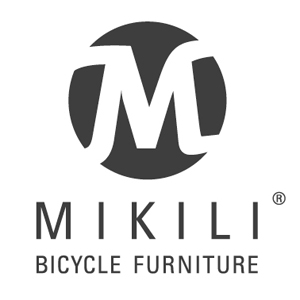 MIKILI Logo Bildmarke Mikili Bicycle Furniture Schwarz 72 DPI in