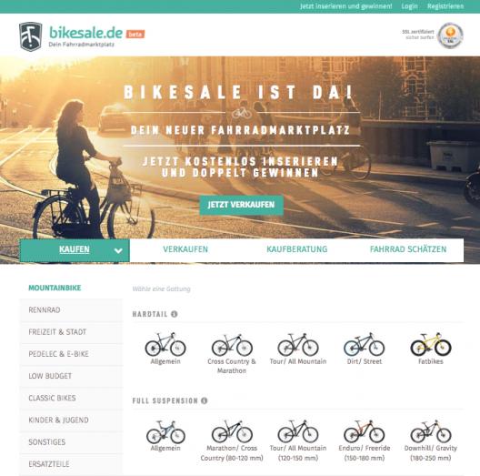 Bikesale Screenshot-528x523 in bikesale – der Fahrradmarkplatz