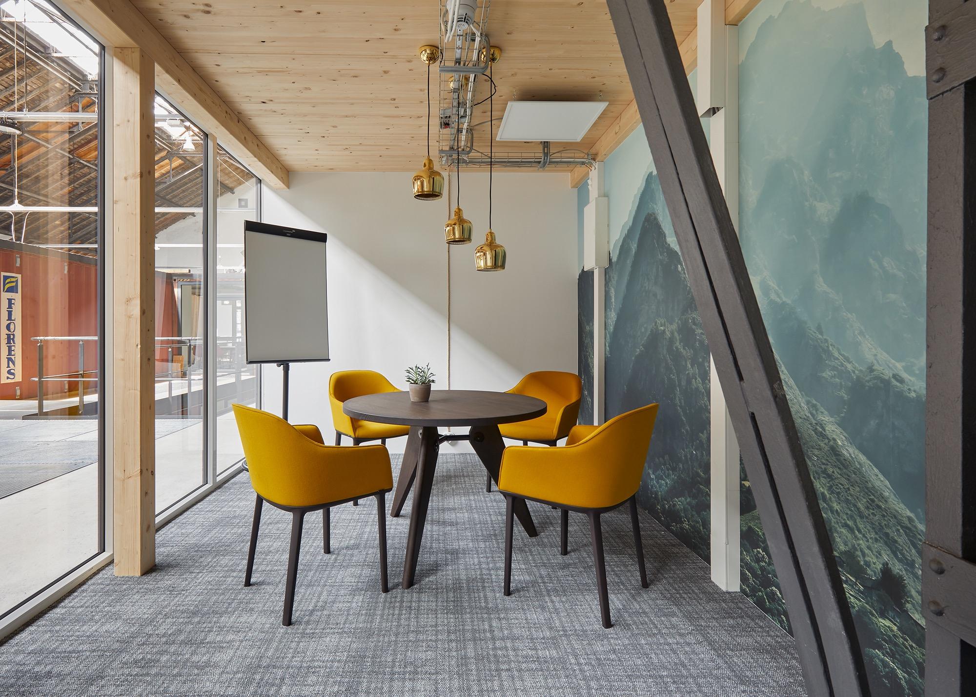 Lokhalle 1 in Grünhof – Inkubator und Heimat für die Nachhaltigkeitszene in Freiburg