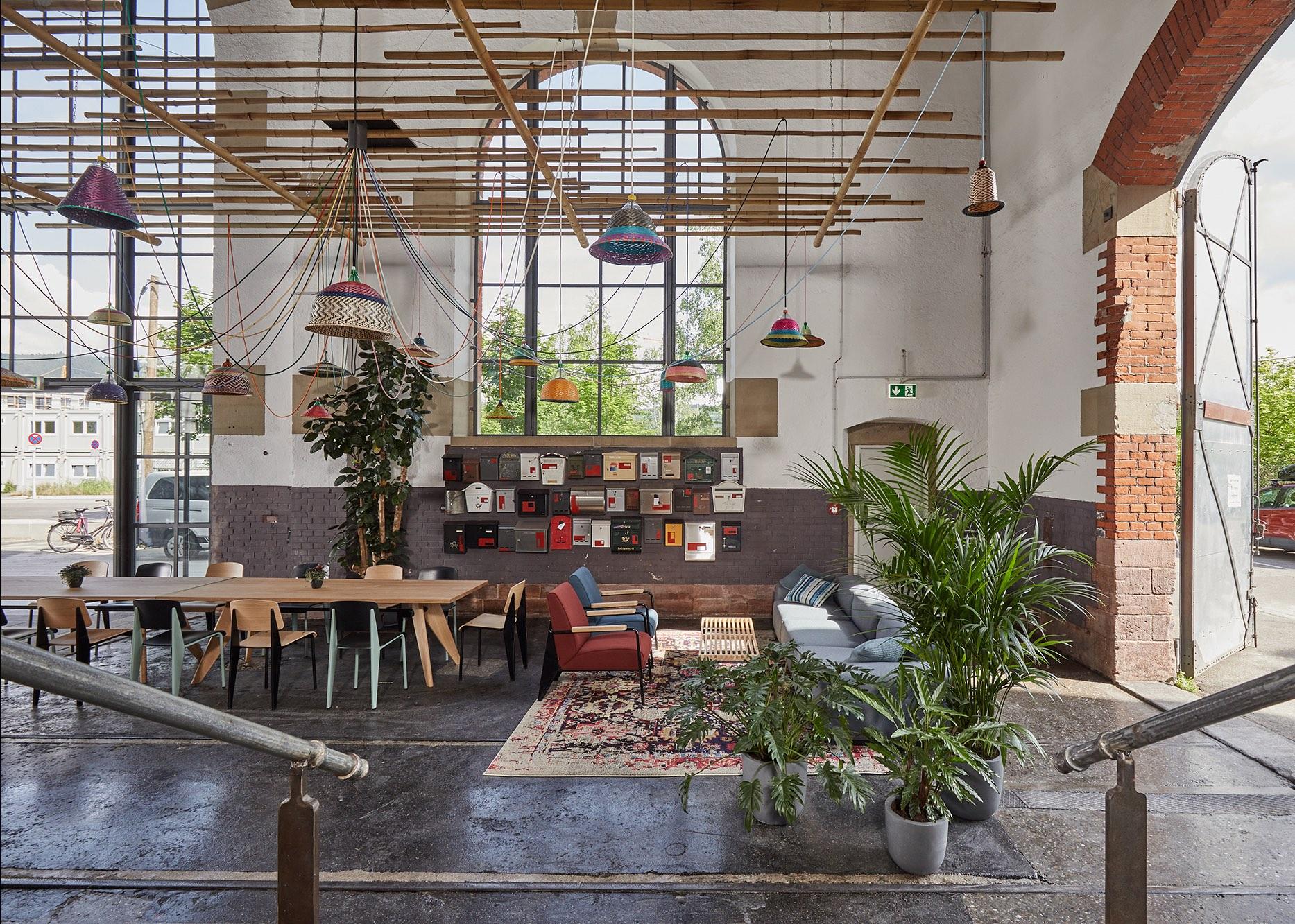 Lokhalle 2 in Grünhof – Inkubator und Heimat für die Nachhaltigkeitszene in Freiburg
