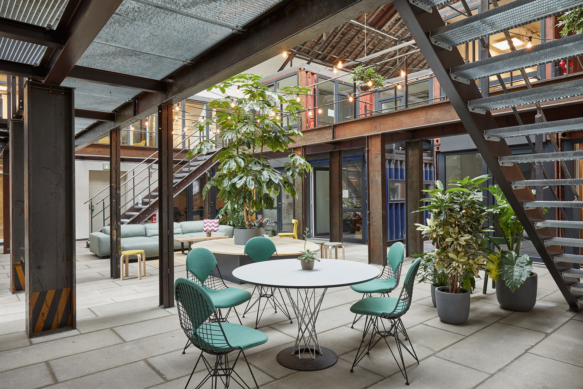 Lokhalle 4 in Grünhof – Inkubator und Heimat für die Nachhaltigkeitszene in Freiburg